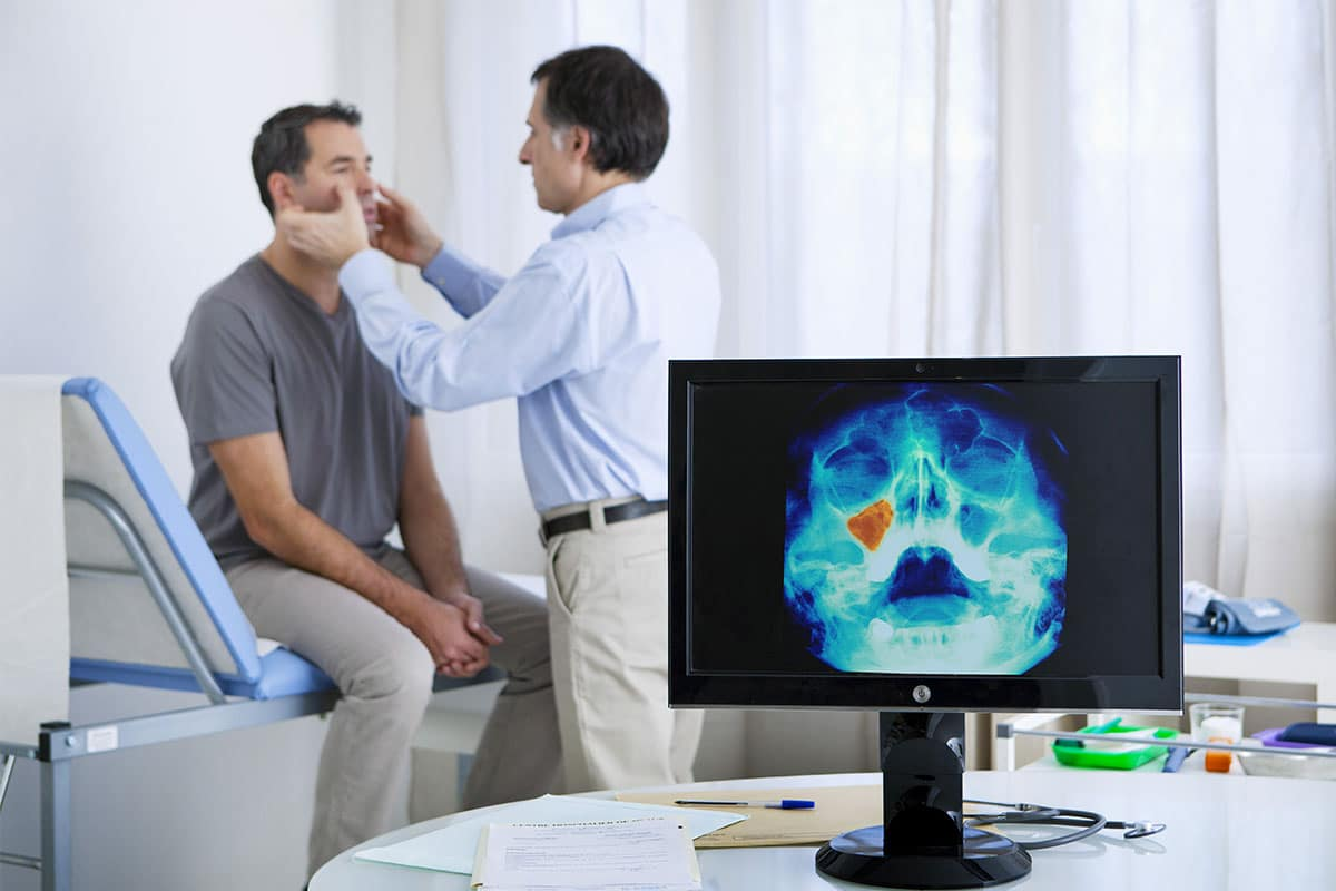 Surgery to Stop Snoring - Doctor giving a consulation